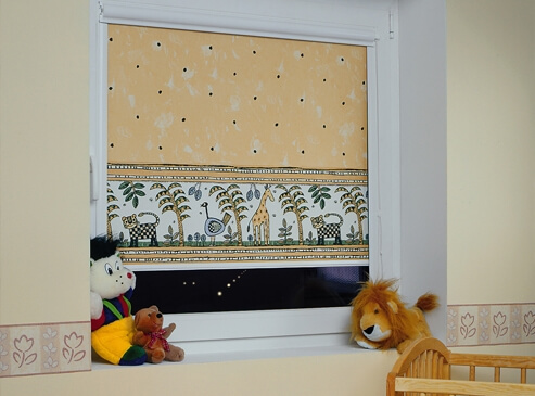 On-Window Roller blinds